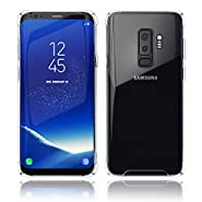 Kitoo Samsung Galaxy Case, Transparent Crystal Clear TPU Cover, Slim Silicone Drop Protection, Wireless Charging Compatible with Samsung Galaxy