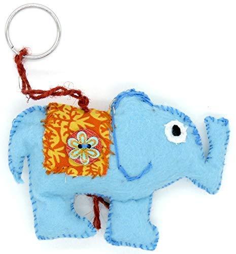 Llavero original personalizado Elefante de la suerte: Amazon ...