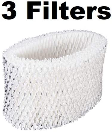 (Home Humidifiers) Humidifier Filter Wick for Halls H620 HLS1400, HLF62 (3 Pack)