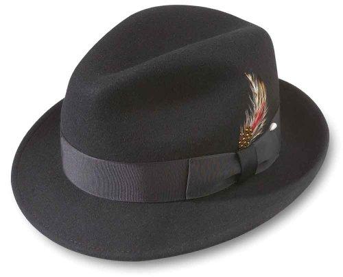 (Broner Melodrama Blues Litefelt Hat, Black,)