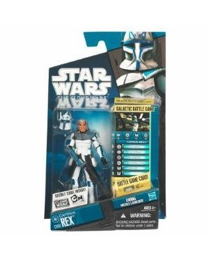 Star Wars 2010 Clone Wars Animated Action Figure CW No. 01 Captain Rex