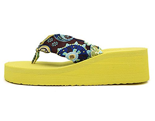 Dayiss Dayiss Pantofole Donna Donna Giallo Dayiss Giallo Pantofole Pantofole FqxwHS