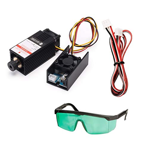 SainSmart 405nm/5.5W Blue Laser Module Kit for CNC Machine 3018 and 3018-PRO