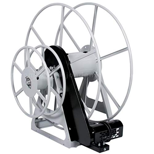 (High Profile Electric Vacuum Hose Reel with Manual Solution Hose Reel)