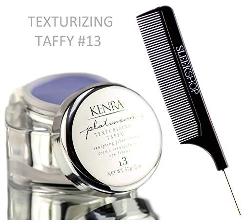 Kenra Platinum TEXTURIZING TAFFY 13, Sculpting Fiber Creme, Sculpt & Separate Cream (STYLIST KIT) (2 oz / 57 g)