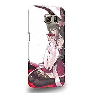 Case88 Premium Designs Kantai Collection Kancolle battleship Haruna 0703 Carcasa/Funda dura para el Samsung Galaxy S6 (No Edge versión !)