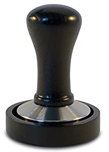Coffee Tamper 58 Dutch Coffee Co. Premium Design - Espresso Tamper 58mm Stainless Steel Base with Solid Wood Handle & Matching Stand - Barista Tools and Equipment for Coffee Shop Supplies - Latte Pro by Dutch Coffee Co.