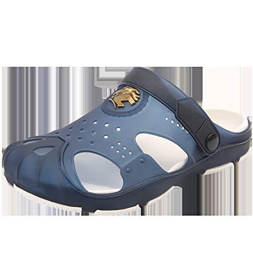 Sandali e Pantofole Antiscivolo Leggeri Sandali da Spiaggia Traspiranti 43 Blu Scarpe da Spiaggia Traspiranti LLTTKLthj Pantofole da Uomo di Grandi Dimensioni