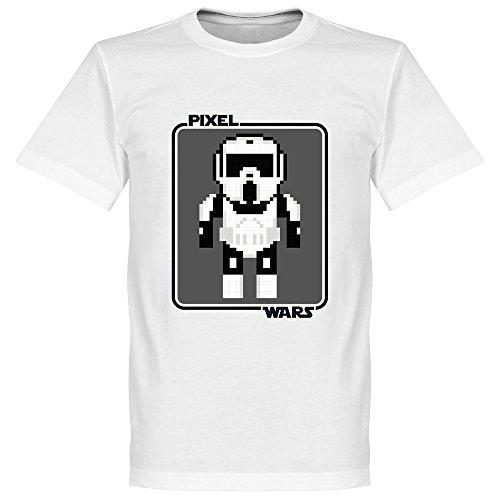 Pixel Wars Bikers Scout T-Shirt - weiß