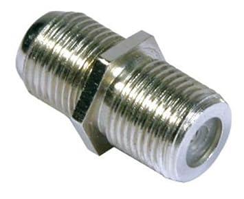 5 x adaptador de conector F hembra copulantes de conectores para unir ampliar Auline barril Cable