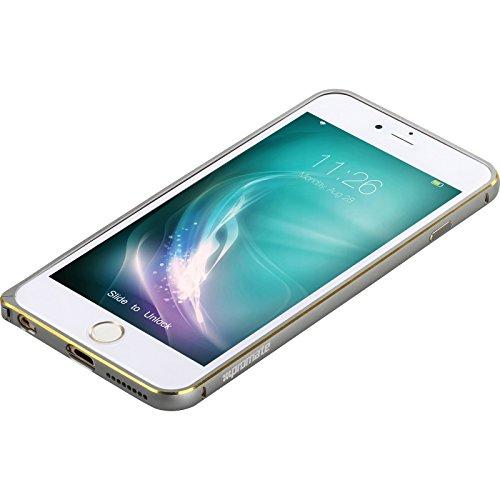 Promate i6P en alliage antichoc Ultra-fine en Aluminium pour Apple iPhone 6 Plus Plus - 6S Argent