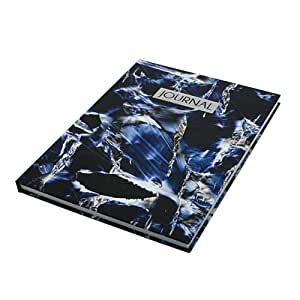 Notebook_ Marble Printing Blue