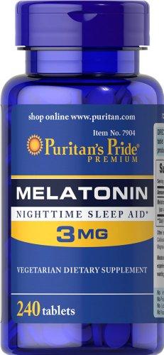 Puritans Pride Melatonin mg 240 Tablets