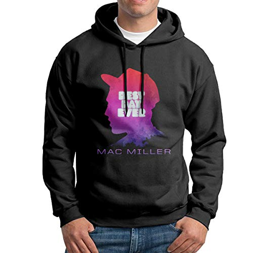 AQ Mac Miller Men's Print Pullover Hoodie Hooded Sweetshirt for sale  Delivered anywhere in Canada