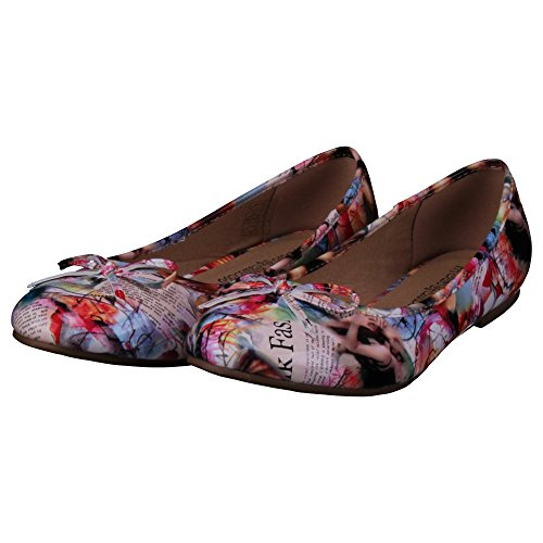 Donna Sun Shadow amp; Multicolore Ballerine qP6tP