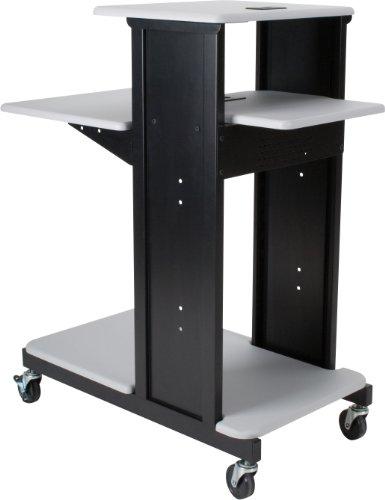Balt Library Mobile Cart (Balt Presentation Cart, X-Long, Gray)