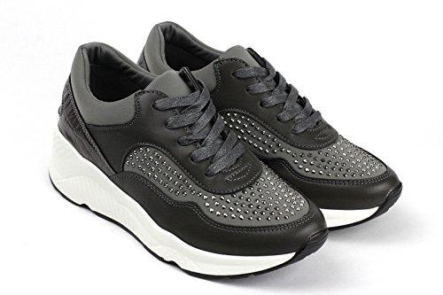 Damen Mode Damen Schnürer Turnschuhe Flache Schuhe Sneakers Fitnessstudio Pumps - Rot, EU 38