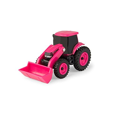 Pink Tractor - ERTL 1/64 Collect N Play Case IH Pink Tractor with Loader