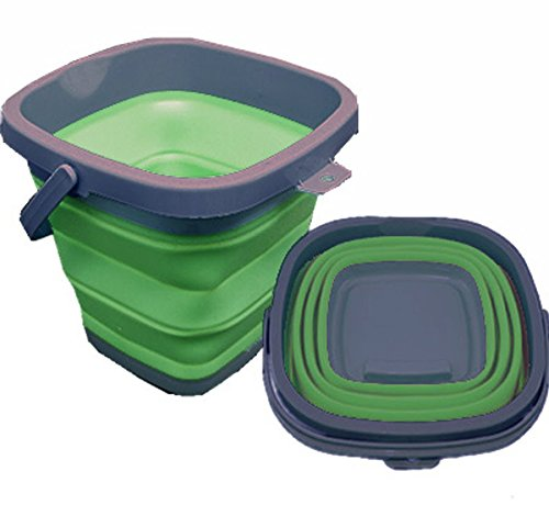 Collapsible Bucket 10L Square Motorhome