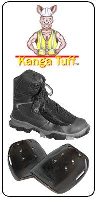Impacto Kanga Tuff Metguard Safety Footwear Metatarsal Protection Attachment - 20pairs (1 Case) By Sena Safety by Sena Safety (Image #6)