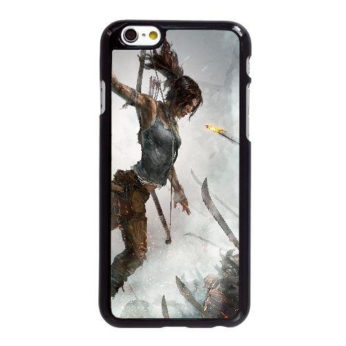 S6M78 tomb raider édition définitive O5X6UB coque iPhone 6 4.7 pouces cas de couverture de téléphone portable coque noire XE6FMR5EY