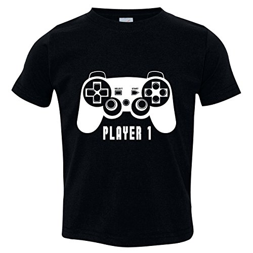 Texas Tees Big Brothers Player One Outfit, Player 1 Shirt, Includes Medium - Guy Nerd Outfit