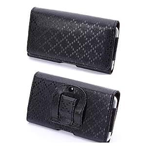 Bolsas - Color Sólido - para iPhone 6 ( Negro , Cuero PU )