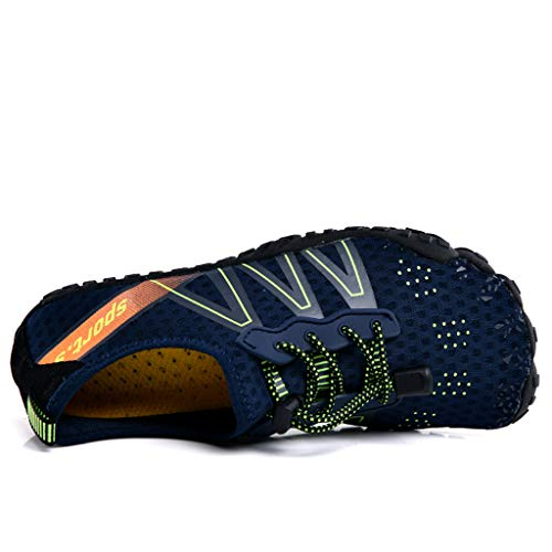 e806594ff88a Sunskyi Men Women Water Shoes,Couple Quick-Drying Breathable Five-Finger  Shoes Summer Beach Swim Drawstring Upstream Shoes