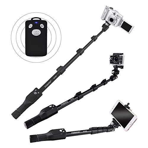 FOSOTO FT-777 Selfie Stick,50 inches Extendable Handheld