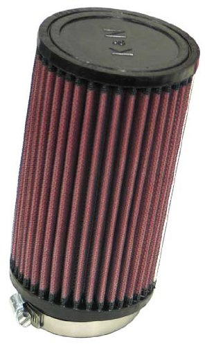 UPC 024844010247, K&N RU-1480 Universal Clamp-On Air Filter: Round Straight; 2.75 in (70 mm) Flange ID; 7 in (178 mm) Height; 4 in (102 mm) Base; 4 in (102 mm) Top