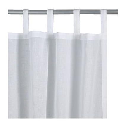 Ikea Wilma Curtains White