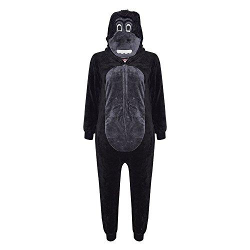 A2Z 4 Kids® Kinderen Meisjes Jongens Gorilla Onesie Extra Zacht Pluizig Alles In Een Kostuum Nieuw Leeftijd 2 3 4 5 6 7…