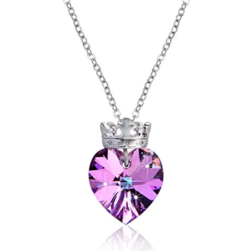 Diamond Accent Crown Necklace - 6