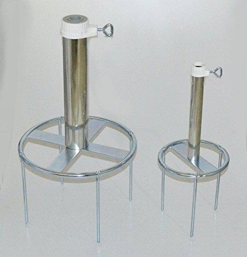 RASENDORN-aus-DEUTSCHEM-STAHL-DER-STABIELO--Sonnenschirmstnder-80--verzinkt-BODENSPIESS-bis--25-mm-RINGDURCHMESSER--180-mm-Befestigung-mit-3-Bodenspieen-Spielnge-20-cm-Sonnenschirmhalter-HOLLY-PRODUKT