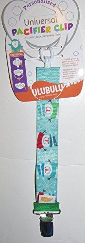 Ulubulu pacifier leash snowman universal