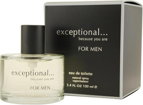 Price comparison product image Exceptional-because You Are by Exceptional Parfums For Men. Eau De Toilette Spray 3.4-Ounces