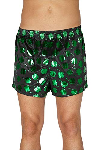 INTIMO Men's Shamrock Boxers, Green, ()