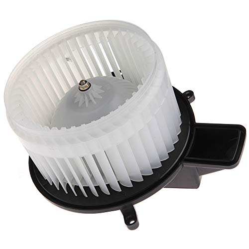 SCITOO ABS Plastic Heater Blower Motor w/Fan HVAC A/C Resistors Blowers Motors fit for 08-16 Chrysler Town Country /11-17 Dodge Durango /08-17 Dodge Grand Caravan /11-17 Jeep Grand Cherokee Front