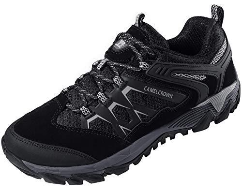 CAMEL CROWN Men's Trekking Shoes Breathable Hiking Shoe Low