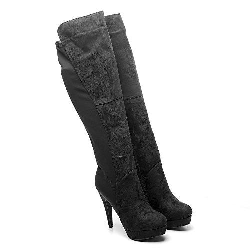 Footwear Sensation - Botas para mujer negro