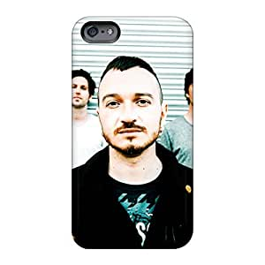 RitaSokul Iphone 6 Protector Hard Cell-phone Case Allow Personal Design Stylish Macbeth Band Image [lpt19028TssA]