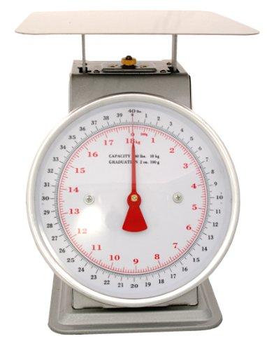 Zenport Accuzen AZD40 Mechanical Platform Dial Scale, 40 Pou