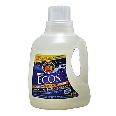 Earth Friendly Products Liquid Laundry Detergent, Magnolia & Lily