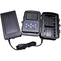 Solar Panel 2500mah Solar Charger Battery for Hunting And Game Trail Cameras by Emperor of Gadgets