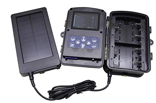 Solar Panel 2500mah Solar Charger Battery for Hunting And Game Trail Cameras by Emperor of Gadgets by Emperor of Gadgets