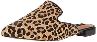 STEVEN by Steve Madden Women's Valent-l Slip-on Loafer, Leopard, 9 M US