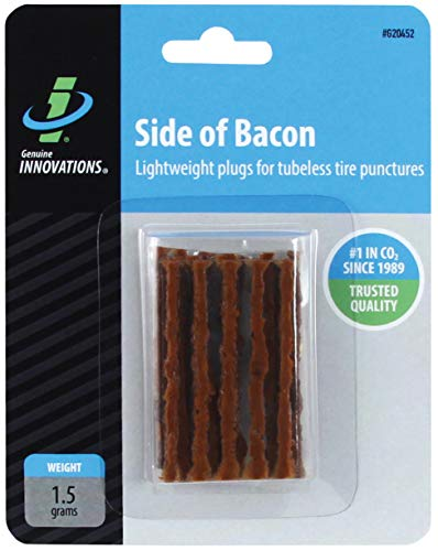 Genuine Innovations Side of Bacon Tubeless Bicycle Tire Repair Plugs