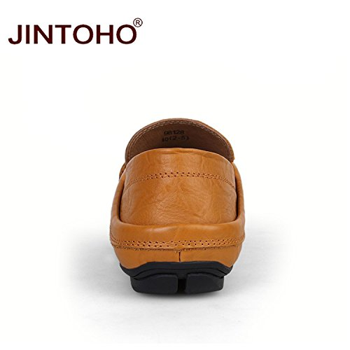 Autumn Shoes amp;sexy Stong Flats Moccasins Without Genuine Fur Se Loafers Men's Leather Lan Shoes Men And Mens Spring XxU8x
