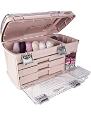 Large Three Drawer Organization System - with Two Small Utility Stows | Battery Storage, Jewelry Storage, Small Parts Storage, Craft Storage, Sewing Storage, Paint Storage, Collectibles Storage