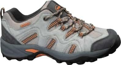 Nevados Women's Sage Low Hiking Shoe,Stone Taupe/Nickel Grey/Signal Orange,5 M US